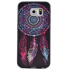 abordables Galaxy S6 Carcasas / Fundas-Funda Para Samsung Galaxy Samsung Galaxy S7 Edge Diseños Funda Trasera Atrapasueños TPU para S7 Active / S7 plus / S7 edge