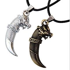 abordables Bijoux pour Femme-Homme Pendentif de collier - Cuir Aigle, Animal Argent, Bronze Colliers Tendance Bijoux Pour Sports