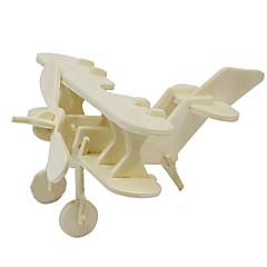 お買い得  パズル-ジグソーパズル 3Dパズル ウッドパズル ビルディングブロック DIYのおもちゃ 飛行機 ウッド