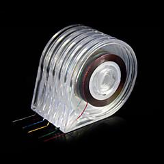 6db köröm eszközök matricák henger doboz tartó kényelmes használatot letisztult formák csíkozás mérőszalag esetén szerszám