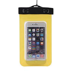 Στεγνό Κουτιά Στεγανές Τσάντες Κινητό τηλέφωνο Αδιάβροχο Καταδύσεις & Κολύμπι με Αναπνευστήρα PVC Κίτρινο Πράσινο Μπλε Μωβ Μαύρο