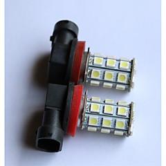 Недорогие Противотуманные фары-H8 / 9006 / 9005 Автомобиль Лампы 2.5W SMD LED / SMD 5050 200lm 2 Противотуманные фары