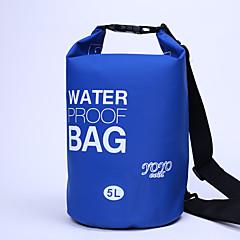 5 L Αδιάβροχη τσάντα Ξηρός Αδιάβροχη σανίδα Αδιάβροχη Μικρού μεγέθους για Ποδηλασία/Ποδήλατο Κατασκήνωση & Πεζοπορία