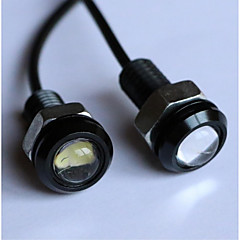 Недорогие Дневные фары-Лампы Высокомощный LED 180 lm Фары дневного света For Универсальный Все модели Все года