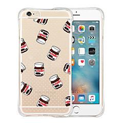 Назначение iPhone X iPhone 8 iPhone 6 iPhone 6 Plus Чехлы панели Защита от удара Прозрачный С узором Задняя крышка Кейс для Мультипликация