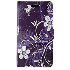 voordelige Galaxy S6 Edge Hoesjes / covers-hoesje Voor Samsung Galaxy S8 S7 Portemonnee Kaarthouder met standaard Flip Volledige behuizing Camouflage Kleur Mandala Bloem Hard