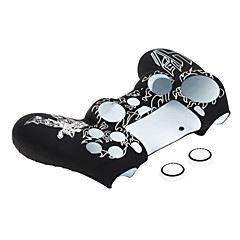 お買い得  バッグ、ケース、スキン-PS4コントローラー用の白いプラスチックの皮膚保護ケースカバー