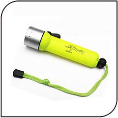 Latarki LED Latarki do nurkowania LED 1000 Lumenów 3 Tryb LED 18650 Wodoodporne Mały rozmiar Do użytku codziennego Nurkowanie/boating