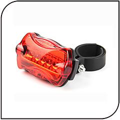 olcso Kerékpár világítás-Kerékpár hátsó lámpa biztonsági világítás LED - Kerékpározás Vízálló csúszásmentes LED fény AAA 80 Lumen AkkumulátorBattery Kerékpározás-