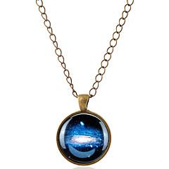 preiswerte Halsketten-Herrn / Damen Anhängerketten  -  MOON Simple Style Silber, Bronze Modische Halsketten Für Party, Alltag, Normal / Edelstein