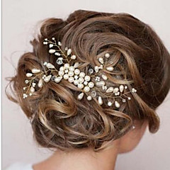 cheap Hair Jewelry-Women's Elegant Pearl Hair Comb