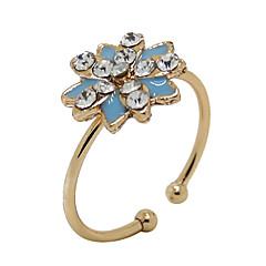 Муж. Женский Массивные кольца Камни по месяцу рождения Сплав В форме цветка Подсолнух Бижутерия Назначение Для вечеринок Повседневные