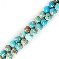 cheap Beads & Jewelry Making-DIY Jewelry Stone Purple Red Green Blue Light Green Round Shape Bead DIY Necklace Bracelet