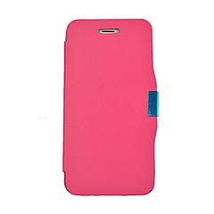 матовое дизайн магнитная застежка полный корпус кейс для iphone 5с (ассорти цветов)