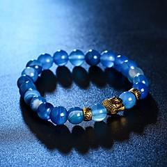 preiswerte Armbänder-Kristall Strang-Armbänder - Krystall Kopf Armbänder Rose / Braun / Blau Für Weihnachts Geschenke / Alltag / Normal