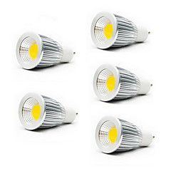 voordelige LED-lampen-5w gu10 gu5.3 (mr16) e26 / e27 led spotlight mr16 1 kop 450-700lm warm wit koud wit 3000k / 6500k ac 85-265v