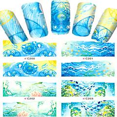 Dedo / Dedo del Pie-Caricatura / Encantador-Joyas de Uñas-Otros-8pcs-7*6.5cm- (cm)