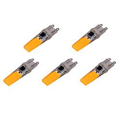 olcso LED izzók-YWXLIGHT® 5pcs 500-700 lm G9 LED betűzős izzók T 2 led COB Dekoratív Meleg fehér Hideg fehér AC 220-240V