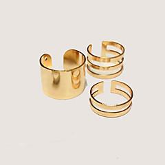 preiswerte Ringe-Damen Schmuckset Knöchel-Ring - Aleación Personalisiert, Modisch Verstellbar Silber / Golden Für Party Alltag Normal