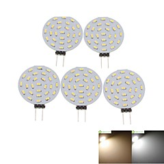 preiswerte LED-Birnen-SENCART 5 Stück 2W 3000-3500/6000-6500lm G4 LED Spot Lampen MR11 36 LED-Perlen SMD 3014 Dekorativ Warmes Weiß / Kühles Weiß 12V / RoHs