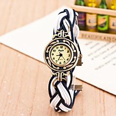お買い得  レディース腕時計-女性用 クォーツ リストウォッチ カジュアルウォッチ 生地 バンド ボヘミアンスタイル ファッション 多色
