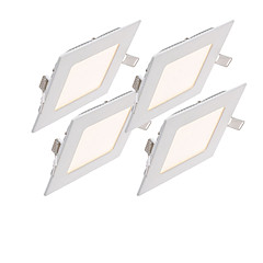 cheap Indoor Lights-ZDM® 4pcs 6 W 500-600 lm LED Spotlight 30pcs LED Beads SMD 2835 Decorative Warm White / Cold White / Natural White 85-265 V / 4 pcs / RoHS / 100