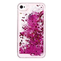 Недорогие Кейсы для iPhone 5-Кейс для Назначение iPhone 5 / Apple / iPhone X iPhone X / iPhone 8 / Кейс для iPhone 5 Движущаяся жидкость Кейс на заднюю панель Сияние и блеск Твердый ПК для iPhone X / iPhone 8 Pluss / iPhone 8