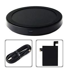 voordelige Telefoonladers-C-type qi draadloze oplader opladen mat pad + ontvanger sticker met NFC voor LG v10