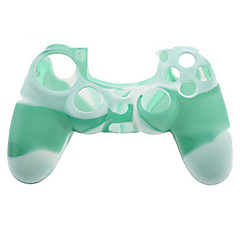 abordables Fundas PS4-DF-003 Sin Cable Game Controller Case Protector Para PS4 ,  Game Controller Case Protector Silicona 1 pcs unidad