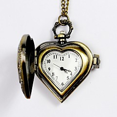 Męskie Zegarek kieszonkowy Kwarcowy Grawerowane Stop Pasmo Srebro żółty