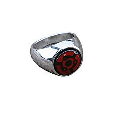 Biżuteria Zainspirowany przez Naruto Cosplay Anime Akcesoria do Cosplay pierścień Červená Slitina Męskie