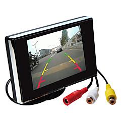 3,5 polegadas monitor do carro TFT-LCD retrovisor hd com suporte reverter câmera de segurança de alta qualidade