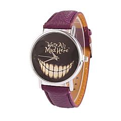 preiswerte Tolle Angebote auf Uhren-Damen Quartz Armbanduhr Armbanduhren für den Alltag PU Band Charme Kleideruhr Modisch Schwarz Weiß Blau Rot Braun Rosa Lila Rose