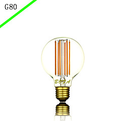 BOFA G80 6 w LED New Design LED Household Decorative Lighting Filament Bulbs (85V-265V)