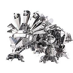 3D-puslespill Puslespill Metallpuslespill Leketøy Dinosaur 3D GDS Barn Deler