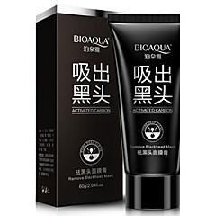 1 Masker Nat Kaki Witter Maken / Poriënverkleinend / Tegen acné / Cleansing / Mee-eters Gezicht Zwart Fade China BIOAQUA
