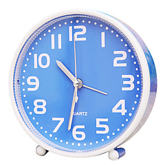 voordelige Klokken-leuke vorm nieuwigheid stomme mode plastic wekker (willekeurige kleur)