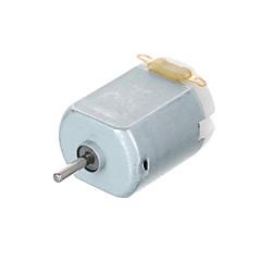 landa tianrui tm -dc 1v-6v 130 tipi araba modeli oyuncak için mikro motor - gümüş