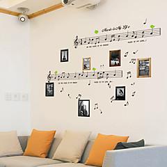 baratos -Música / Vida Imóvel / Moda / Vintage / Lazer Wall Stickers Autocolantes de Aviões para Parede,PVC 70*50*0.1