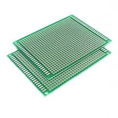 단면 유리 섬유 프로토 타입 PCB의 보편적 인 보드 (7cm의 *의 9cm)