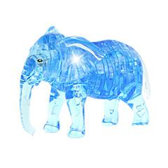preiswerte -Bausteine Holzpuzzle Kristallpuzzle Spielzeuge Elefant Neuheit 41 Stücke