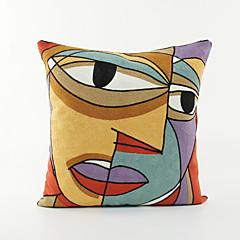 billige Puder-impressionistisk / abstrakt kunst mønster bomuld pudebetræk hjem indretning pudebetræk