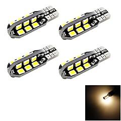 Недорогие Автомобильные фары-SENCART T10 Автомобиль Для полицейских автомобилейv Для кроссовера Лампы 6W W 700lm lm 24 Декоративное освещение Подсветка двери