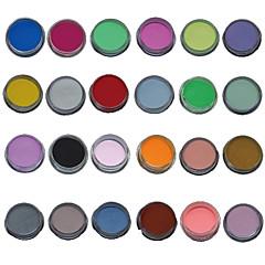 olcso -24db mix színes köröm szobrot faragott akril por