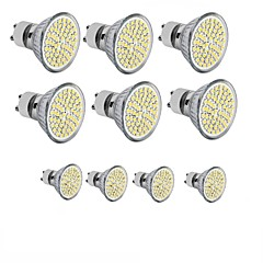 3.5 GU10 GU5.3 (MR16) E26/E27 LED-spotlampen MR16 60SMD leds SMD 2835 Decoratief Warm wit Koel wit 3000-6500lm 3000-6500KK AC 220-240 DC