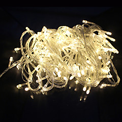 cheap LED Strip Lights-Outdoor Decoration String Light Led 10M 100 Led Ac220V / 110V Eu 8 Modes For Party Garden Holiday Fairy Lights