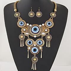 Mujer Juego de Joyas Collar / pendientes Borla Moda Joyería Destacada Europeo Collares Pendientes Para Fiesta Diario Regalos de boda