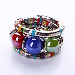 Damskie Bransoletki bangle Bransoletki Strand Modny Bohemia Style Stop Biżuteria Biżuteria Na Codzienny Casual Prezenty bożonarodzeniowe