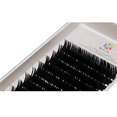 A box has 12 rows of eyelashes Gene Geană Gene Individuale Ochi / Geană Gros Extins / Volum Mărit Confecționat Manual Others Others 0.15mm