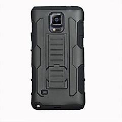 Για Samsung Galaxy Note Ανθεκτική σε πτώσεις / με βάση στήριξης tok Πίσω Κάλυμμα tok Πανοπλία PC Samsung Note 4